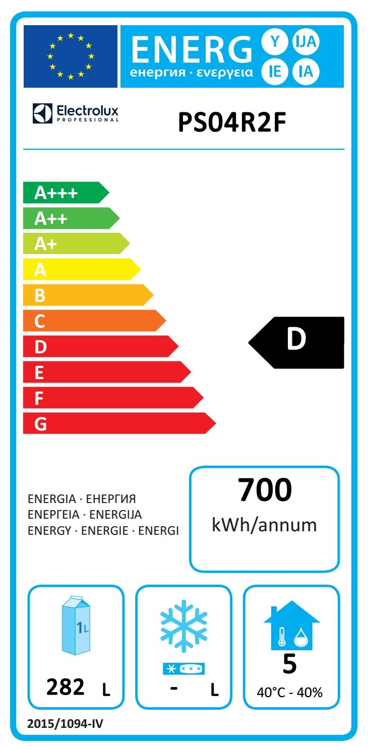 Prostore 500PROSTORE KÜHLSCHR. 470L, 2 TÜ. 0+10° CNS