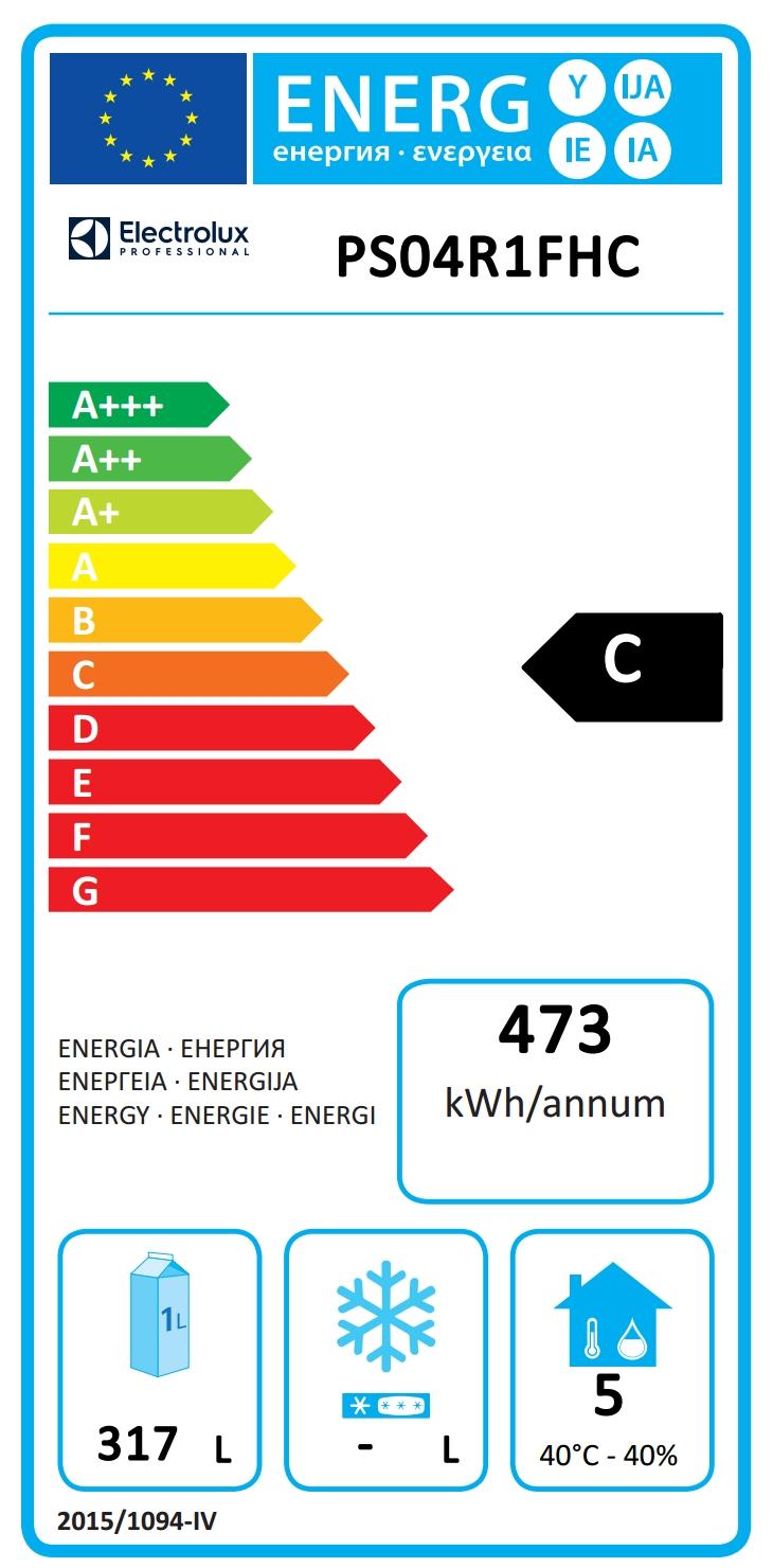 Prostore 5001 Door Digital Refrigerator, 470lt (0/+10 °C) - R290