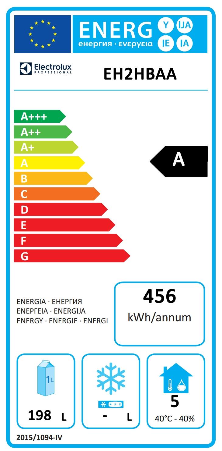 Digitale Kühltischeecostore HP Premium Tischkühlschrank - 290lt, 2-Türen
