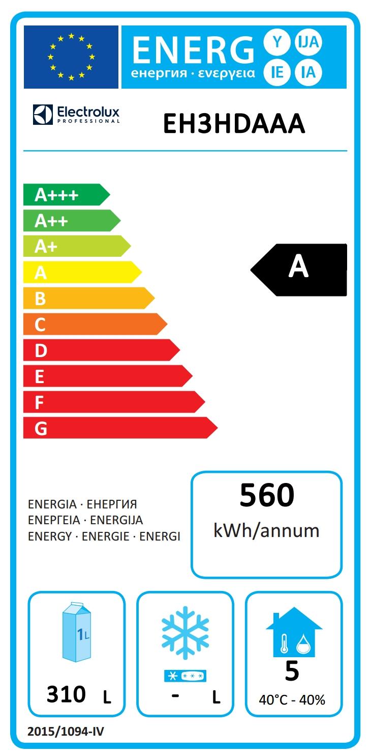 Dijital Tezgahaltı Buzdolabıecostore HP Premium Tezgah Tipi Soğutucu - 440lt, 3-Kapılı, Soğutma Ünitesi Sağda