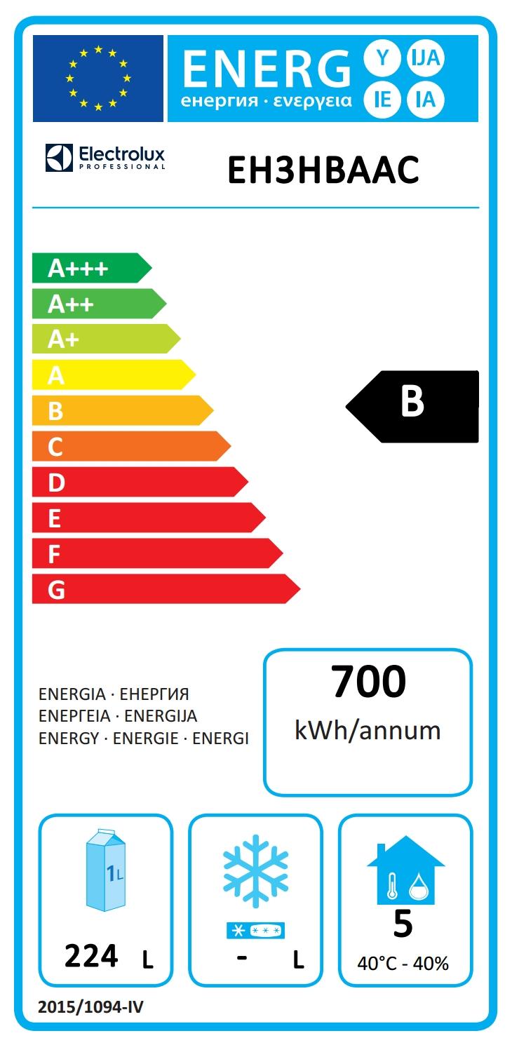 Dijital Tezgahaltı Buzdolabıecostore HP Premium Tezgah Tipi Soğutucu - 440lt, 2-Kapılı, 3-Çekmeceli