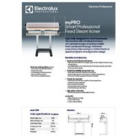 IS1103 myPRO Ironer Product data sheet