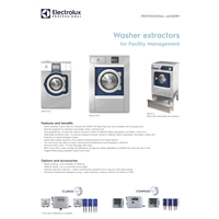 Washer extractors for Facility Management