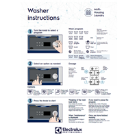 EPR Line 6000 CompassPro Washer user wall instructions-Multi-Housing Laundry