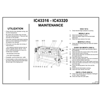Wall instructions - IC4 3316 et IC4 3320