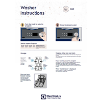 EPR Line 6000 CompassPro Washers-user wall instructions-QSR