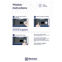 EPR Line 6000 CompassPro Washers-user wall instructions-CARE