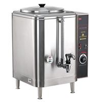 Beverage Dispensing System<br>Hot water dispenser 56.8 L, stainless steel