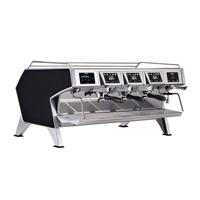 Coffee System<br>Multi-boilers espresso machine, black, 3 groups, 3x1.65l boilers for coffee, 4 dosing program