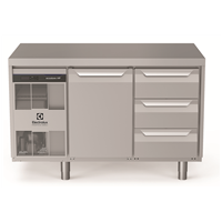 Digital Undercounterecostore HP Premium Refrigerated Counter - 290lt, 1-Door, 3x1/3 Drawers