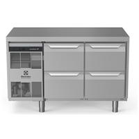 Digital Undercounterecostore HP Premium Refrigerated Counter - 290lt, 4-Drawer