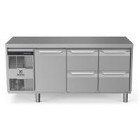 Digital Undercounterecostore HP Premium Refrigerated Counter - 440lt, 1-Door, 4-Drawer