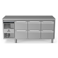 Digital Undercounterecostore HP Premium Refrigerated Counter - 440lt, 6-Drawer
