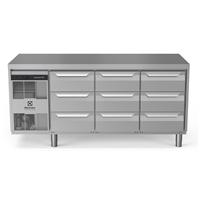 Digital Undercounterecostore HP Premium Refrigerated Counter - 440lt, 9x1/3 Drawers