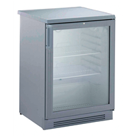 160 LineRefrigerated Counter 160 lt - undercounter glass door (grey) R600a