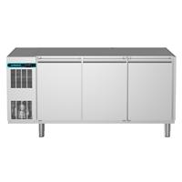 CRIO Line CP - 3 DOOR REFRIGERATED COUNTER 420LT - NO TOP (R290)  lt -