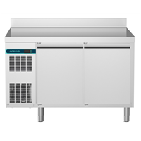 CRIO Line CP - 2 Door Refrigerated Counter, 265lt (-2/+10) - Upstand (R290)