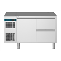 CRIO Line CP - 1 Door & 2 Drawer Refrigerated Counter, 265lt (-2/+10) - No Top (R290)