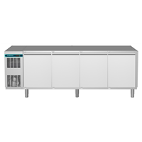 CRIO Line CP - 4 Door Refrigerated Counter, 560lt (-2/+10) - No Top (R290)