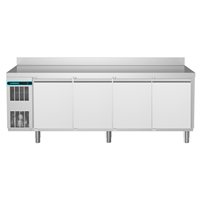 CRIO Line CP - 4 Door Refrigerated Counter, 560lt (-2/+10) - Upstand (R290)