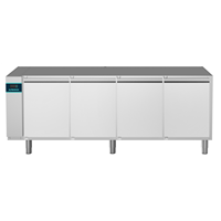 CRIO Line CP - 4 Door Refrigerated Counter, 560lt (-2/+10) - No Top - Remote