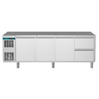 CRIO Line CP - 3 Door & 2 Drawer Refrigerated Counter, 560lt (-2/+10) - No Top (R290)