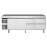 CRIO Line CP - 2 Door & 4 Drawer Refrigerated Counter, 560lt (-2/+10) R290
