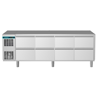 CRIO Line CP - 8 Drawer Refrigerated Counter, 560lt (-2/+10) - No Top (R290)