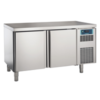 Pastry and Bakery Line - 2 Door Freezer Counter, -24°/-10°C, 600X400 grid
