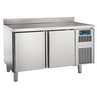 Pastry and Bakery Line - 2 Door Freezer Counter, -24°/-10°C, 600X400 grid - Upstand