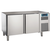 Pastry and Bakery Line - 2 Door Freezer Counter, -24°/-10°C, 600X400 grid - No Top