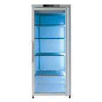 400 Line - FREEZER DIGITALE STATICO 400  lt - -22-15°C porta vetro (bianco)