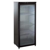 400 Line - FRIGO VINI MECCANICO STATICO 400  lt - +4+19°C porta vetro, nero
