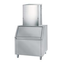 Produttori di ghiaccio - A CUBETTI 140 KG/24H - riserva 200  kg  (modulare, evaporatore verticale), ad aria (7g)