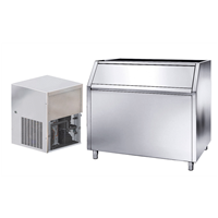 Ice Flaker - 510kg/24h with 350kg bin - Air-cooled