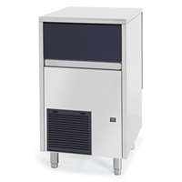 Ice Cuber - 47kg/24h with 25kg bin Ice maker, air-cooled with drain pump