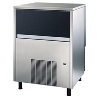 Ice Flaker - 150kg/24h Ice Flaker with 40kg bin - Air-cooled