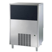 Ice Flaker - 90kg/24h Ice Flaker with 20kg bin - Water-cooled