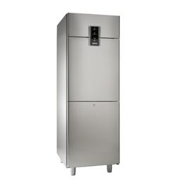 NPT Active<br>Frigo digitale 670 lt, 2 mezze porte, combinato -2 +10°C/-2+10°C, AISI 304, gas R290