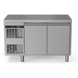 NPT Active HP<br>Tavolo freezer 290 litri, 2 porte, -22°+15°C, con schienale in acciaio AISI 304