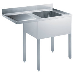 Standard Preparation1200 mm Soaking Sink for Dishwasher with 1 Bowl