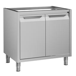 Preparazione Statica Standard<br/><br/><br>Vano armadiato senza top per lavello, 2 porte a battente, 900 mm