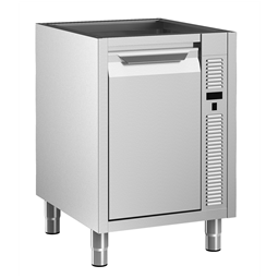 Preparazione Statica Standard<br/><br/><br>Vano armadiato caldo senza top con 1 porta a battente, 600 mm