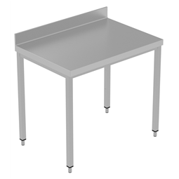 PLUS - Static Preparation1000 mm Work Table with Upstand