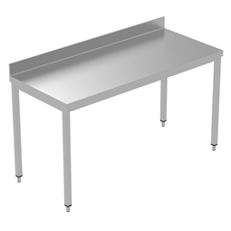 PLUS - Static Preparation1600 mm Work Table with Upstand