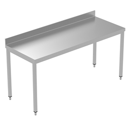 PLUS - Static Preparation1800 mm Work Table with Upstand