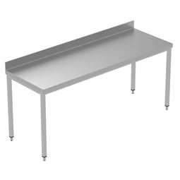 PLUS - Static Preparation2000 mm Work Table with Upstand