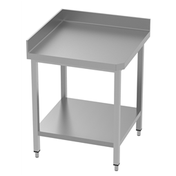 PLUS - Static PreparationCorner Type Work Table With Upstand