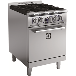 EMPowerFour (4) Open Gas Burner Range with 24