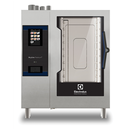 SkyLine PremiumSDoğal Gazlı Kombi Fırın 10GN1/1, soldan menteşeli kapı
